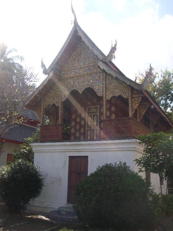 Ho Trai  at Wat Chiang Man, Thailand