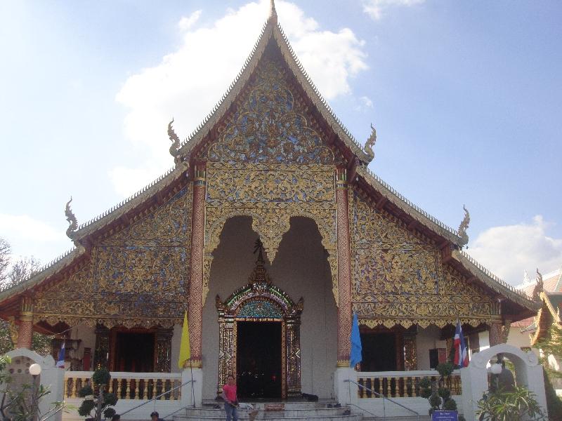 Wat Chiang Mai, Chiang Mai Thailand