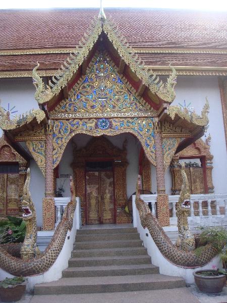Wat Lam Chang in Chiang Mai Chiang Mai Thailand Asia