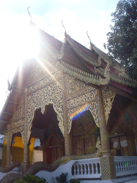 The Elephant temple of Wat Lam Chang, Chiang Mai Thailand