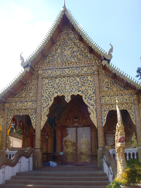 The temple of Wat Lam Chang, Chiang Mai Thailand