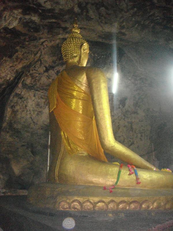 Buddhist Cave Temple Kanchanaburi, Kanchanaburi Thailand
