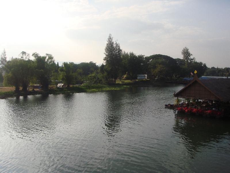 Panorama River Kwai, Kanchanaburi Thailand