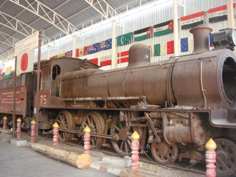 JEATH Museum Kanchanaburi, Thailand