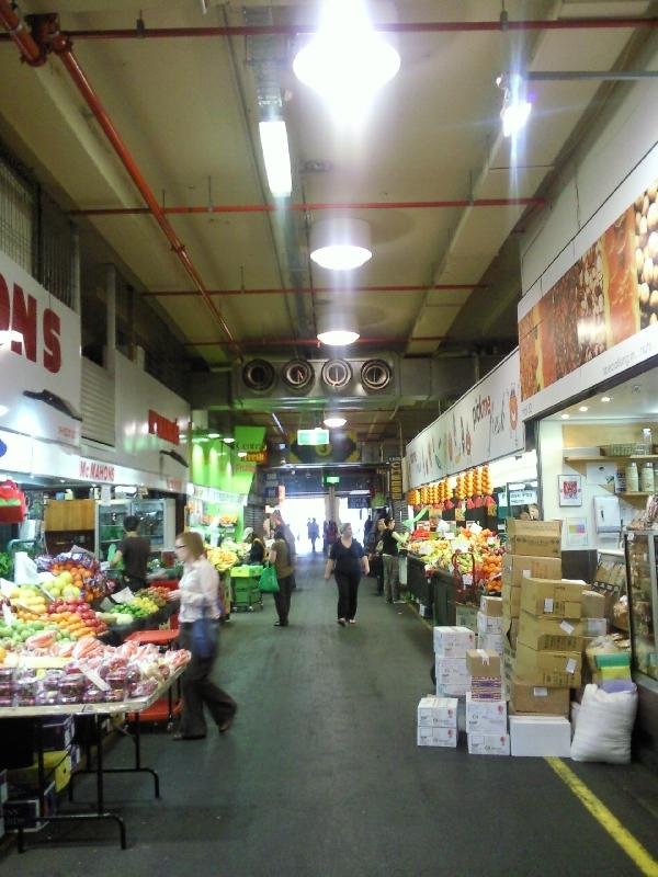 Tour around Adelaide Central Market, Australia