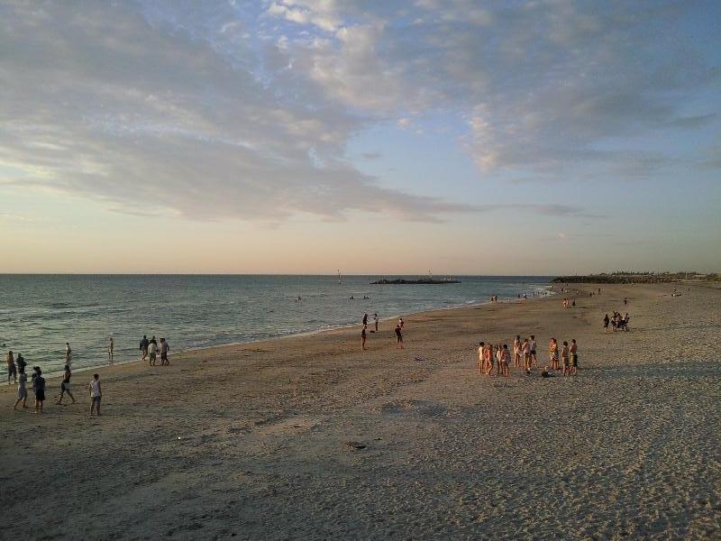 Glenelg Beach near Adelaide, Australia