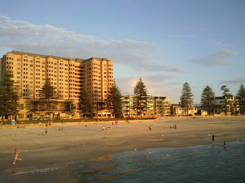 Panoramic pictures Glenelg, Australia
