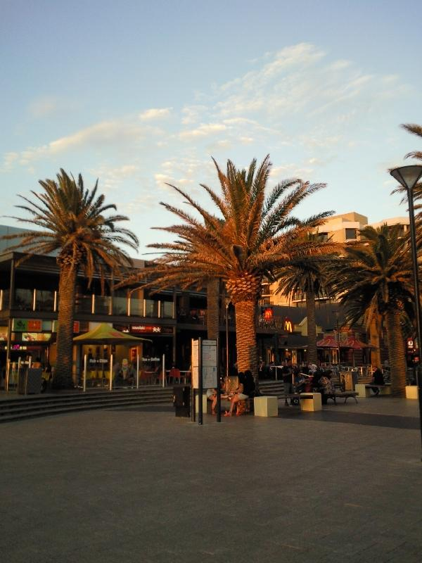 Eateries, bars and restaurants in Glenelg, Australia