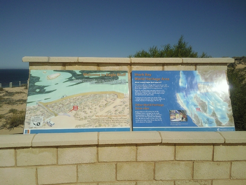Eagle Bluff, Shark Bay Heritage Area, Shark Bay Australia