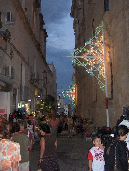 Summer Events in Gallipoli, Italy