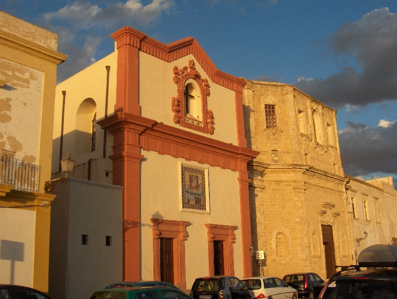 Chiesa del Crocefisso in Gallipoli, Italy