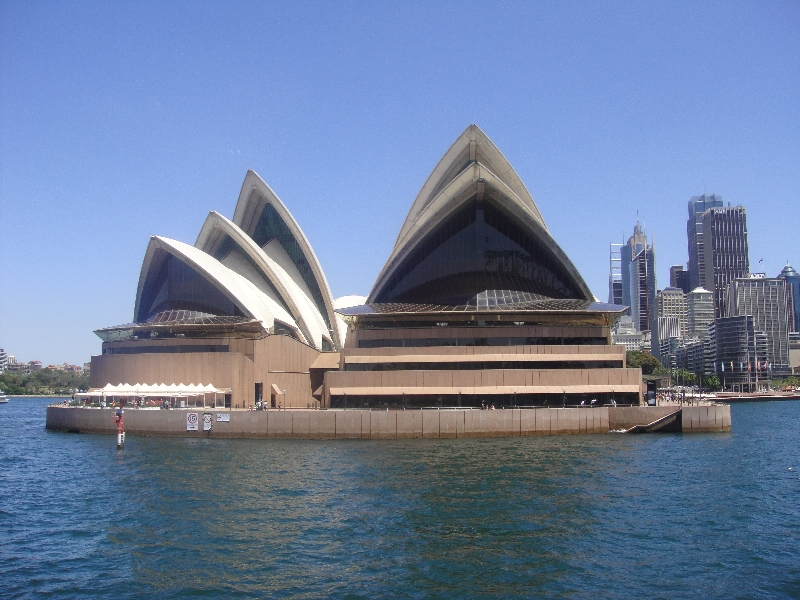 Picture front Opera House, Australia