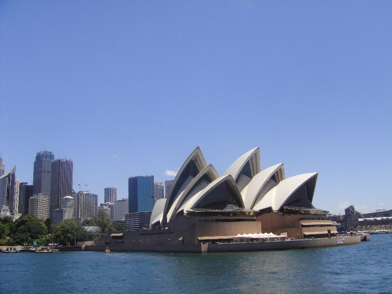 Panoramic photo Opera House, Australia