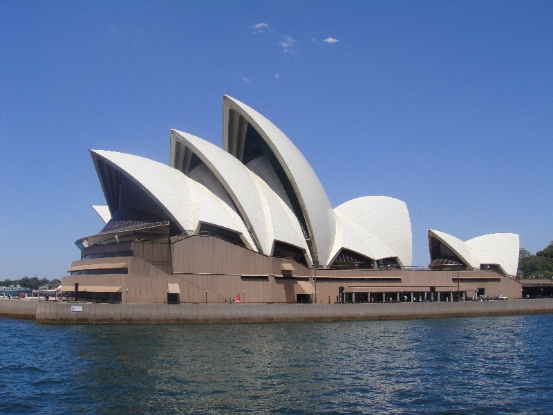 The Opera House in Sydney, Sydney Australia