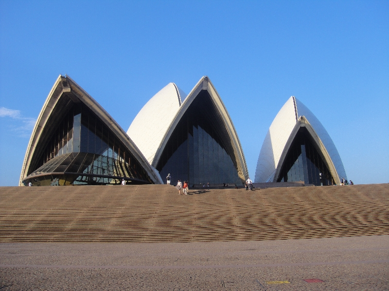 The Opera House on a sunny day, Sydney Australia