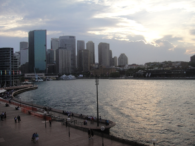 Circular Quay from Opera House, Australia