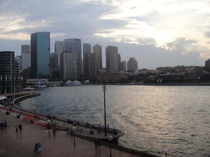 Circular Quay from Opera House, Australia