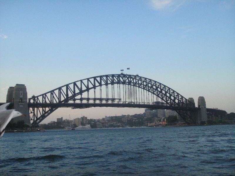 View of Sydney Harbour Bridge, Australia