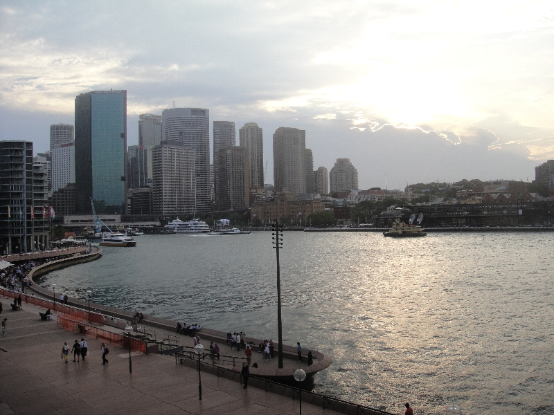 View from Sydney Opera House, Sydney Australia