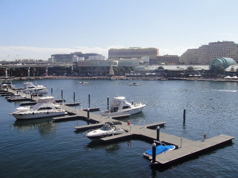 Sydney Australia Darling Harbour boats