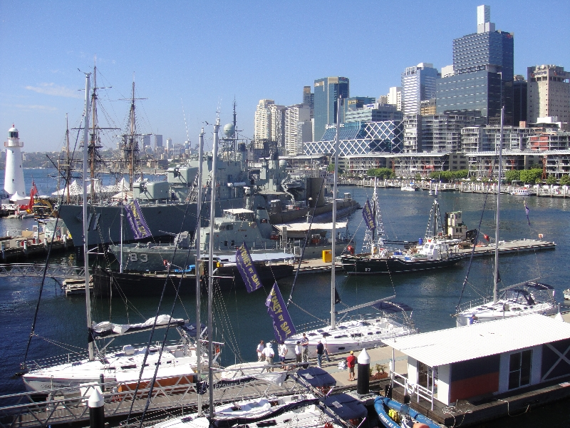 Darling Harbour in Sydney, Australia