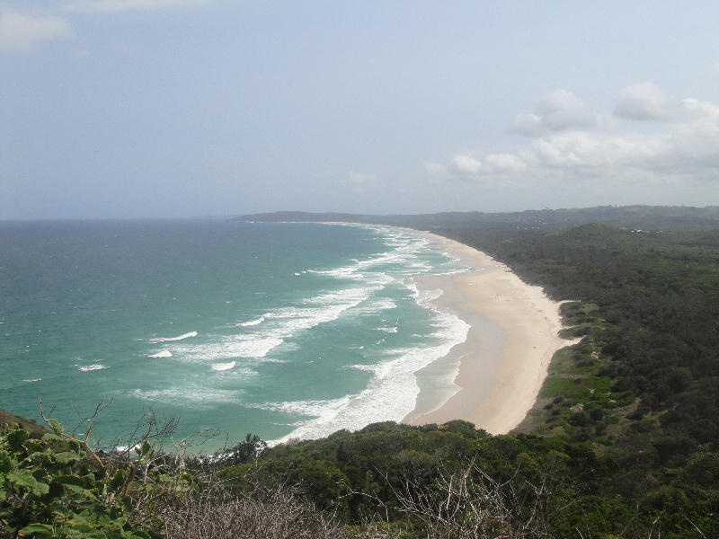 Panoramic view Cape Byron, Byron Bay Australia