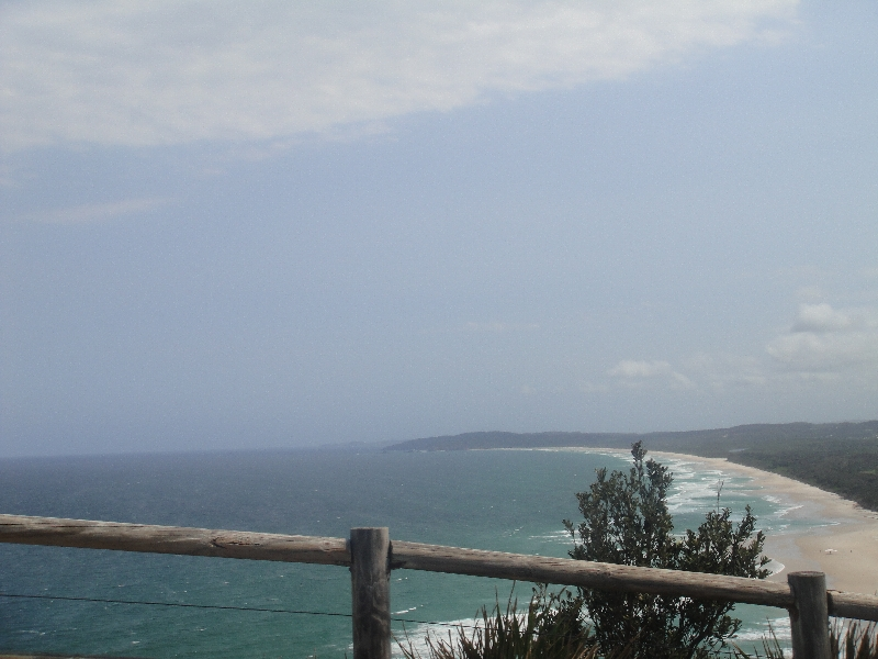 At Cape Byron, Byron Bay, Australia