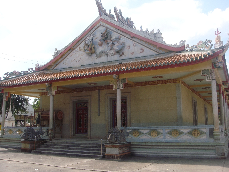 Photos of Chinese temple in Kanchanaburi, Kanchanaburi Thailand