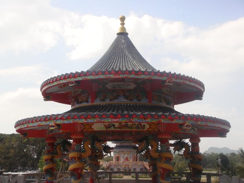 Chinese altars in Kanchaburi, Kanchanaburi Thailand