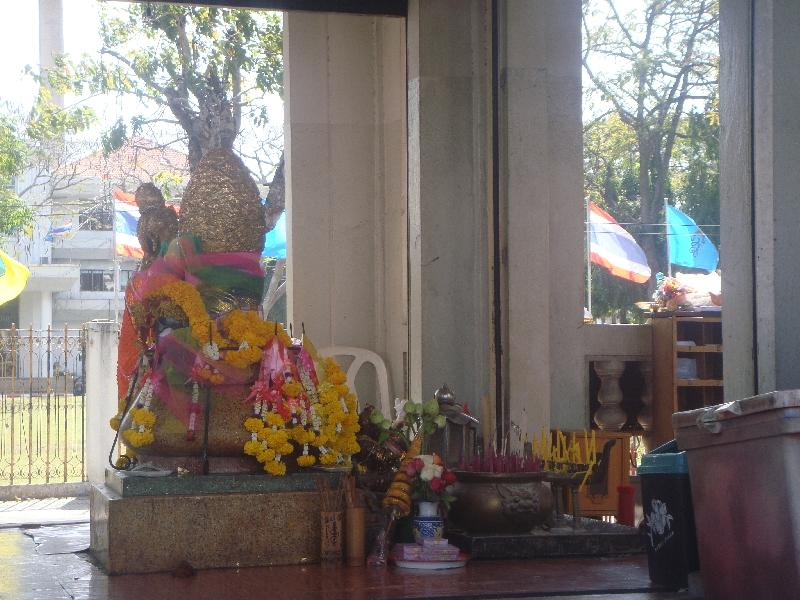Buddhist statues in Kanchanaburi, Kanchanaburi Thailand