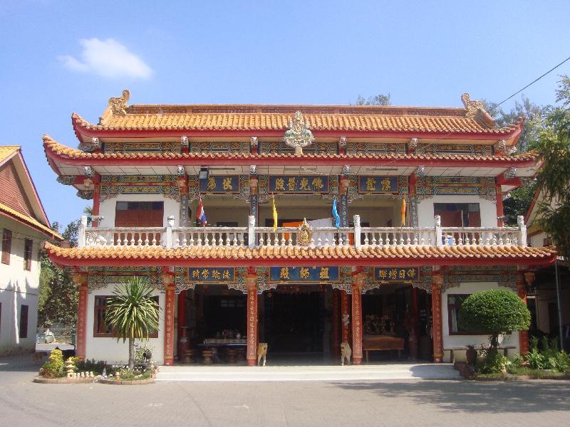 Kanchanaburi Thailand Wat Thawonwararam n Kanchanaburi