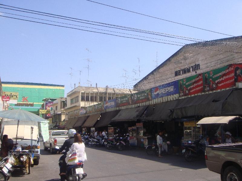 Tha Saeng Chuto in Kanchanaburi, Ayutthaya Thailand
