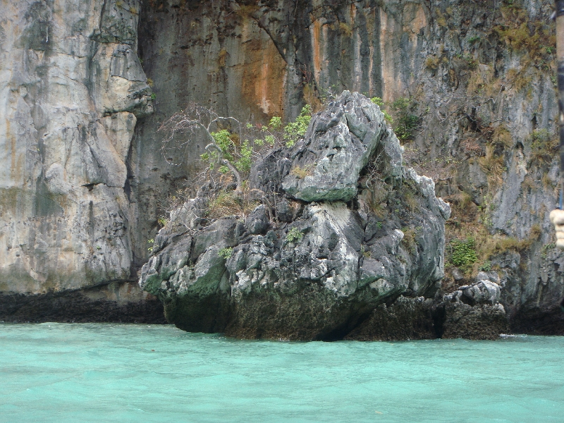 Beautiful lagoon at Ko Phi Phi, Ko Phi Phi Don Thailand