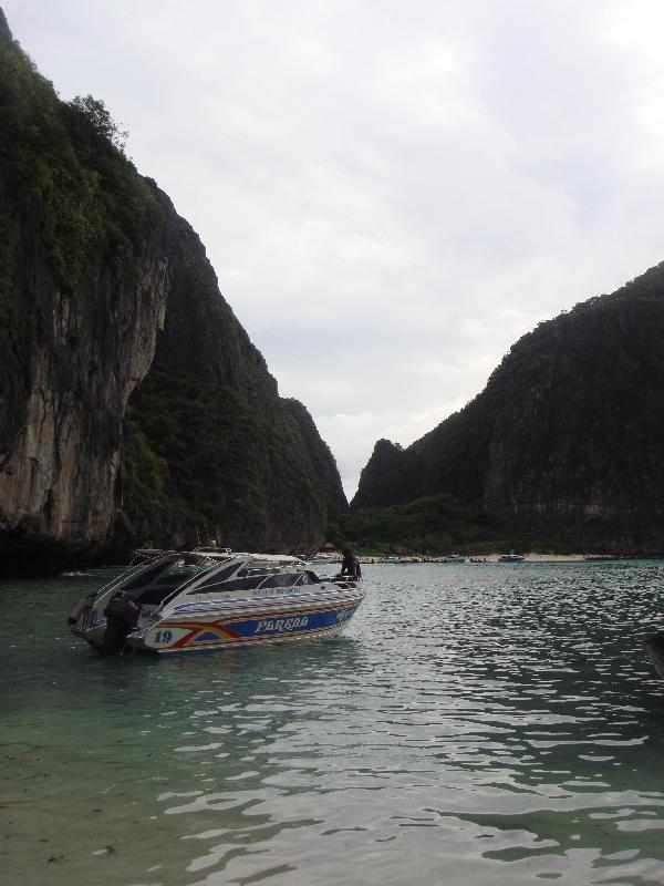 Day tour on a longtail boat, Thailand