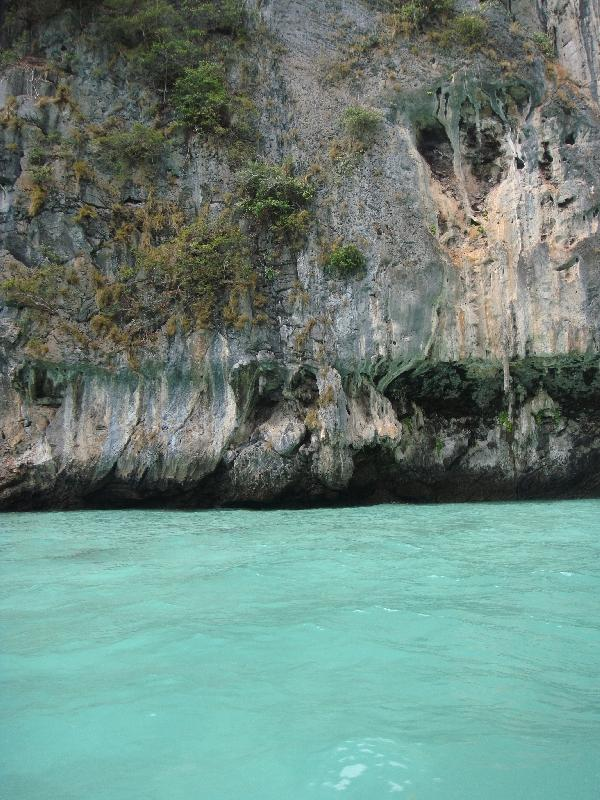 Waters of Phi Phi Leh, Thailand