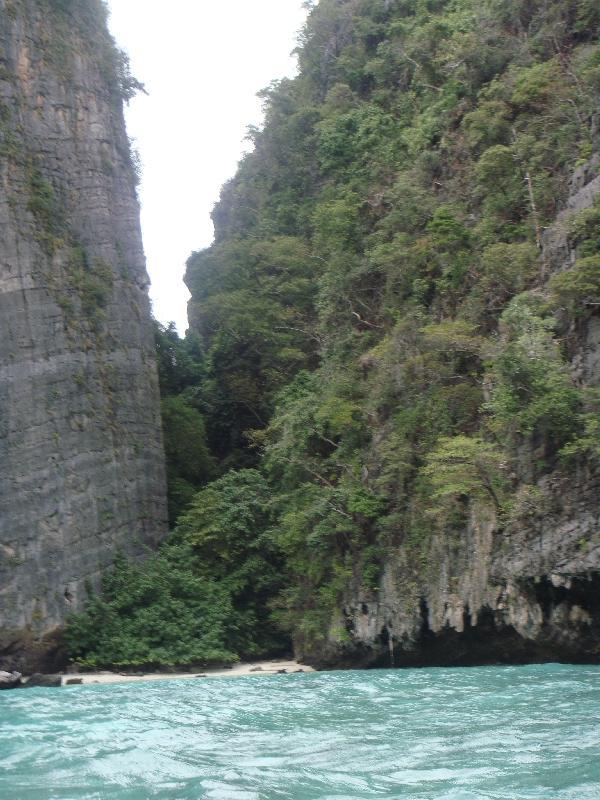 Ko Phi Phi Don Thailand Ko Phi Phi limestone rocks