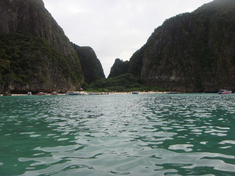 Pictures of Maya Bay, Phi Phi, Thailand