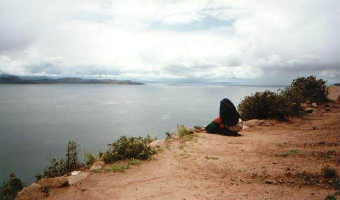 Lake Titicaca in Peru, Peru