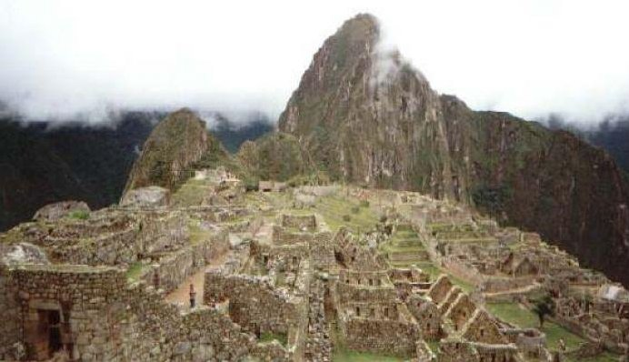 The ruins of Machu Picchu, Machu Picchu Peru