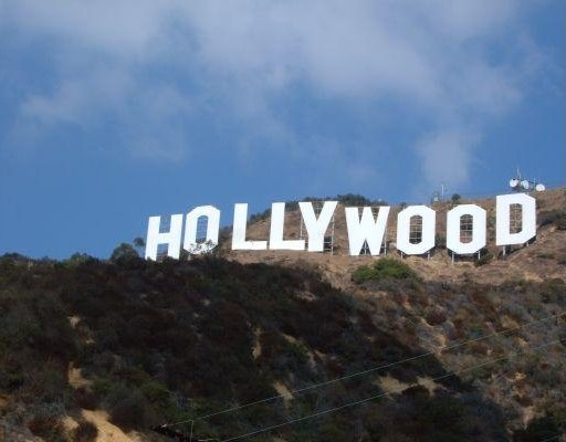 The Hollywood hills, California, San Francisco United States