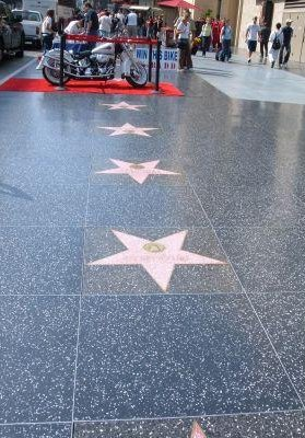 Hollywood Boulevard, Walk of Fame, San Francisco United States