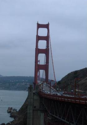 The Golden Gate bridge, San Francisco, San Francisco United States
