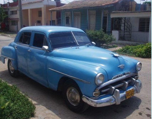 Picture of a cuban car, Cuba