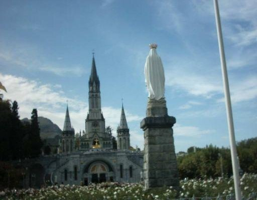 Notre Dame and Lady of Lourdes, France