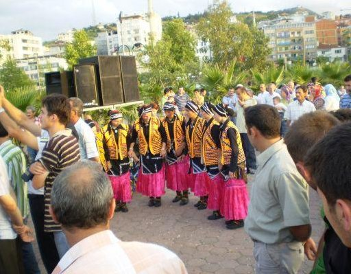 Armenian girls permorming a dance, Turkey