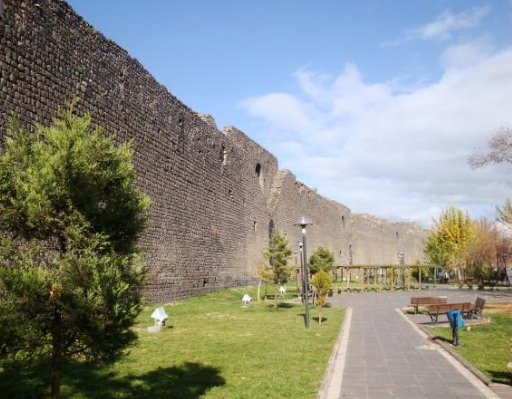 Diyarbakir Turkey The City Walls of Diyarbakir