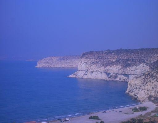 Panorama of Cyrus Souther Coast, Famagusta Cyprus
