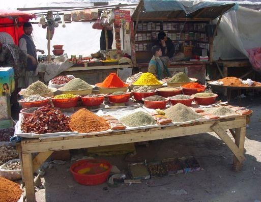 Photos on the Market in Kabul, Afghanistan