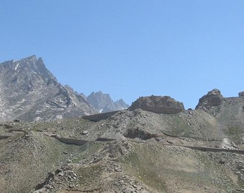 Landscape in Afghanistan, Kabul Afghanistan