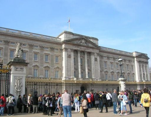 London United Kingdom Buckingham Palace in London